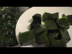 Natural Spinach Cubes for Weightloss Smoothies - YouTube