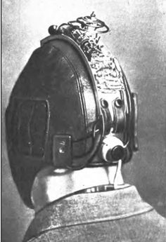 Russian Radio Helmet from the 50s
