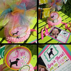 Puppy Dog Birthday Party Decorations Package by PartyOnPurposeShop, $190.90