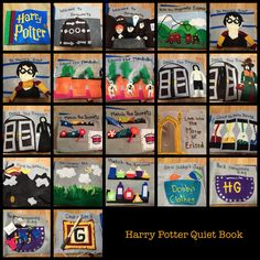 Harry Potter Quiet Book