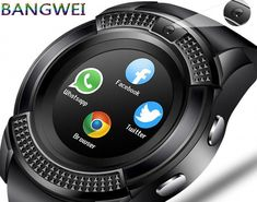 Smartwatches have gotten more helpful for viewing the past little while. Cool Watches, Watches For Men, Couple Watch, Android Watch, Two Way Radio, Wearable Technology, Luxury Watches, Quartz Watch, Lady
