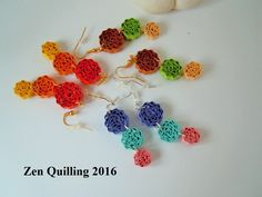 2016 My own original designs - Facebook.com/Zen Quilling