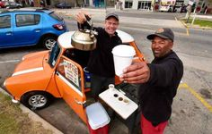 Entrepreneur provides Port Elizabeth with its daily caffeine fix from his Mini Car Bar