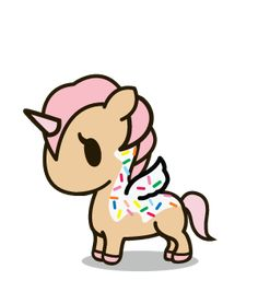 Tokidoki Unicorno donut pony by
