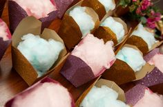 Cotton candy 7 Wedding Favors You Probably Haven't Thought of Yet - Project Wedding