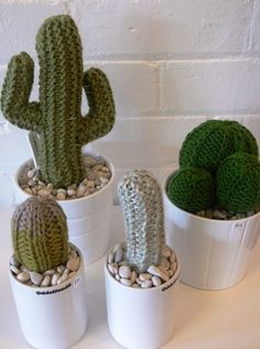 Apparently these are knitted but I'd love to crochet some!