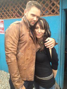 Joel McHale & Katey Sagal
