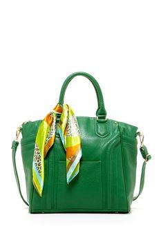 Mother's Day Pick: Satchel with Print Scarf by Segolene
