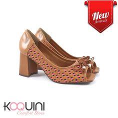 Começando a semana em alta e cheia de charme #koquini #comfortshoes #euquero Compre Online: http://koqu.in/2cyBIgh