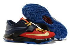 watch a3949 d14c8 Nike Kd Vii Red Gold Black Blue TopDeals, Price   79.76 - Adidas  Shoes,Adidas Nmd,Superstar,Originals