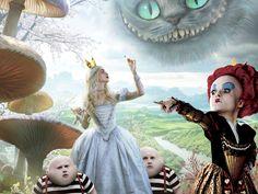 Alice in wonderland wallpapers #48028, Cartoon Photography Wallpapers