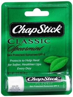 Chapstick... A necessity for all reed players... At least I always carry around three and freak out if I lose them or don't have them with me...