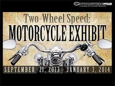 Motorcycle Exhibit at National Corvette Museum