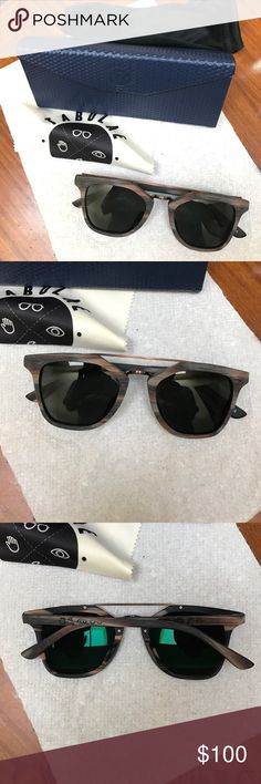 wood sunglasses Brand  New Custom wood sunglasses Tabulae Accessories Sunglasses