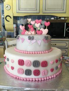 Cake disign baby shower