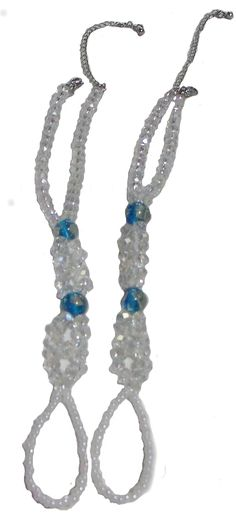Fashion Jewelry ~ Clear Crystals w Blue Beads Barefoot Sandals Beach and Pool Anklets (Pair() S TS038) >>> Check this awesome product by going to the link at the image. (As an Amazon Associate I earn from qualifying purchases) Amazon Associates, Bare Foot Sandals, Blue Beads, Anklets, Clear Crystal, Barefoot, Turquoise Bracelet, Fashion Jewelry, Pairs