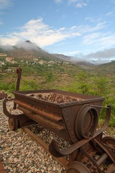 Jerome, Arizona, a mile-high and once known as the wickedest town in the west, sits on the steep slopes of Mingus Mountain. Now a national historic district, Jerome and its mines produced as much as a billion dollars ore in its heyday