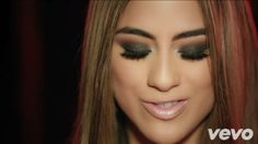 Ally's makeup in the Worth It music video|screenshot by @kithybaby