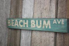Nautical decor for the home. Learn to build a beach-like environment for yourself making use of low cost nautical decor. Vintage Beach Signs, Beach Signs Wooden, Nautical Signs, Beachy Signs, Driftwood Signs, Coastal Wall Art, Beach Wall Art, Coastal Decor, Seaside Decor