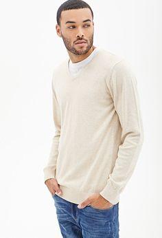 Don Benjamin  V-Neck Knit Sweater #21Men