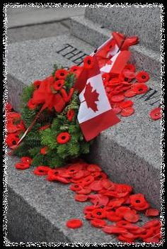 Remembrance Day Photos ~ Ottawa ~ National War Memorial ~ Confederation Square ~ Tomb of the Unknown Soldier Eternal Rest Grant Unto Them, O Lord and Let Perpetual Light Shine Upon Them.