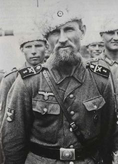 fnhfal:  Cossack volunteers  for the Wehrmacht during WWII