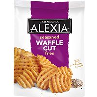 Seasoned Waffle Fries from Alexia will improve every meal. Enjoy these all natural baked waffle fries alongside today& lunch or dinner. Easy Roasted Potatoes, Cheesy Potatoes, Baked Potatoes, Frozen Waffles, Potato Wedges, Frozen Vegetables, Dry Yeast, Oven Baked, Gourmet Recipes