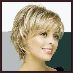 Blonde long pixie