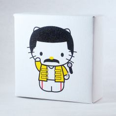 Plasticgod x Sanrio Blocks Freddie Mercury