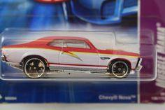 Hot Wheels *Muscle Mania* SHORT CARD 04/04 Chevy Nova 40th Anniv. NEW 2008  #HotWheels #Chevrolet