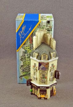 NEW J CARLTON BY GAULT FRENCH MINIATURE HOTEL BRASSERIE PARIS BUILDING