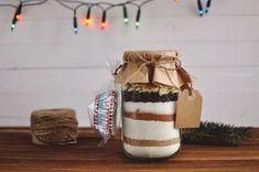 Muffiny ze słoika, czyli mieszanka do wypieku na prezent