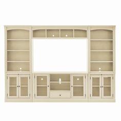 $ Built In Shelves Living Room, Built In Bookcase, Living Room Tv, Bookcases, Bedroom Shelving, Playroom Shelves, Basement Shelving, Built In Hutch, Ikea Built In