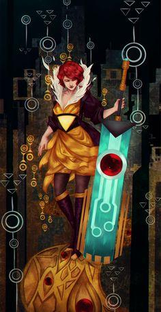 Transistor by RobasArel.deviantart.com on @DeviantArt