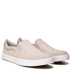 07fcc95679f3 Dr. Scholl s Madison Memory Foam Slip On Sneaker Greige Micro Perf Black  Slip On Sneakers