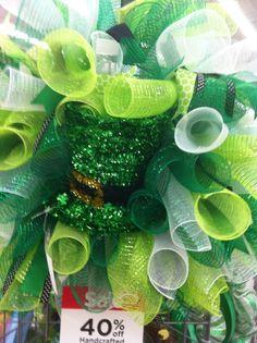 St patricks day wreath 2015 #4930