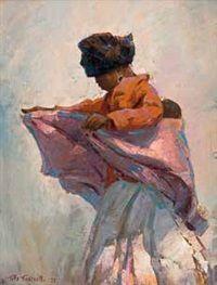 Getting Ready, Gialekas, Transkei by Titta Fasciotti Past, Auction, Oil, Artist, Painting, Past Tense, Artists, Painting Art, Paintings