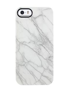 Marble White iPhone 5/5S TS Deflector Case by Uncommon at Gilt