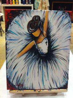 Sips N Strokes - West Palm Beach, FL, Verenigde Staten. My painting...all done in 3 hours!