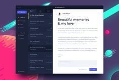 Bolt inbox by Michael Korwin - Dashboard Design, App Ui Design, Mobile App Design, User Interface Design, Page Design, Dashboard Ui, Flat Design, Pad App, Cali