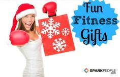 Last-minute gifts for the #fitness buff in your life!| via @SparkPeople #holidays #healthyholidays