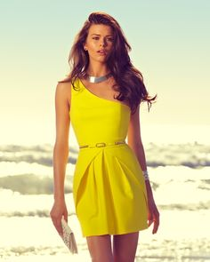 Forever New - Festival of Lights collection - Lexie One Shoulder Dress