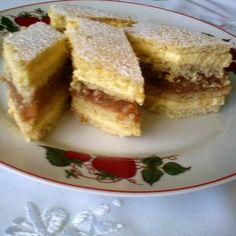 Dessert Bars, Dessert Recipes, Winter Food, Cornbread, Nutella, French Toast, Muffin, Goodies, Yummy Food