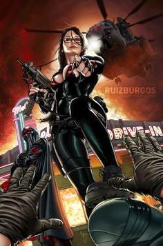 Baroness from Gi-Joe. Just for fun. Baroness and Comic Book Characters, Comic Book Heroes, Marvel Heroes, Comic Character, Comic Books Art, Comic Art, Superhero Characters, Arte Dc Comics, Bd Comics