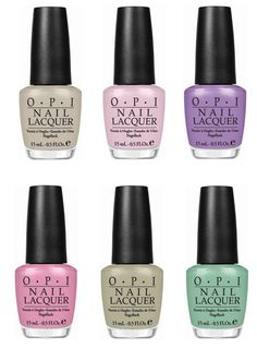 "OPI ""Pirates of the Caribbean"" Summer 2011 Collection 
