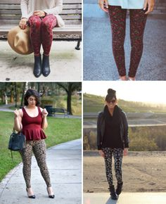 20 Style Tips On How To Wear Printed Leggings