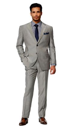 here's the grey suit, black/charcoal suit. i think it could look v