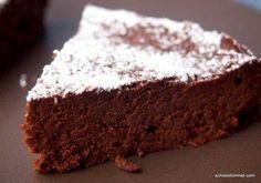 cremig und zartschmelzend: italienischer Schokoladenkuchen