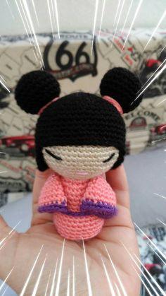 """""""Hanako"""", por María de Marayalife, desde Facebook Maria Garcia, Crochet Necklace, Facebook, Street, Patterns"""