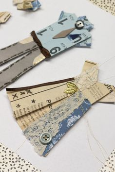 Add Nottingham Lace & Blueprints to your origami